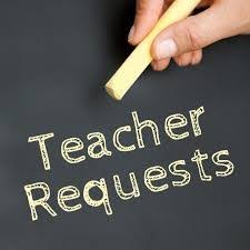 Teacher Requests